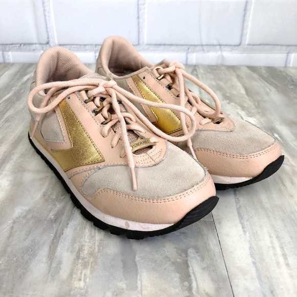Brooks Rose Gold Sneakers Size 85